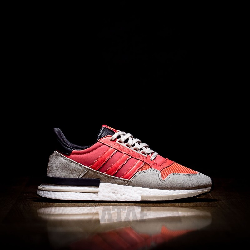 581595b55 adidas ZX 500 RM Boost Solar Red   Core Black   FTWR White