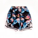Mitchell & Ness NBA Orlando Magic Floral Black Swingman Shorts