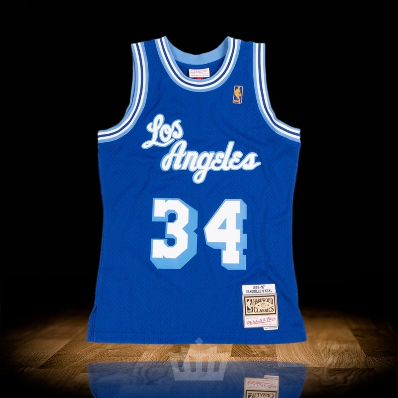 0240a2fbb Mitchell & Ness NBA 1996-97 Los Angeles Lakers Swingman Jersey Shaquille  O'Neal