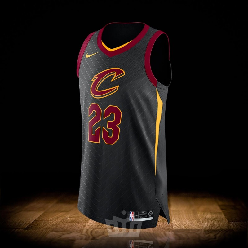 new concept 2ee64 3d6be Nike NBA Statement Edition Authentic Jersey Cleveland Cavaliers Lebron James