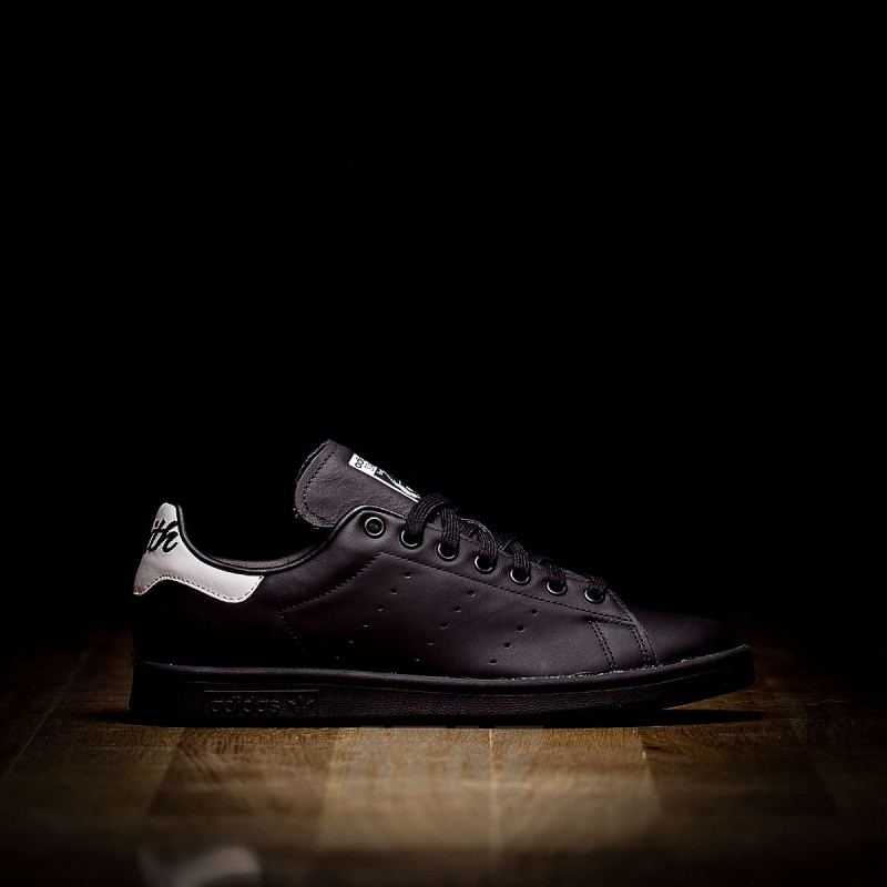 designer fashion d7e91 52de0 adidas Stan Smith Running Black