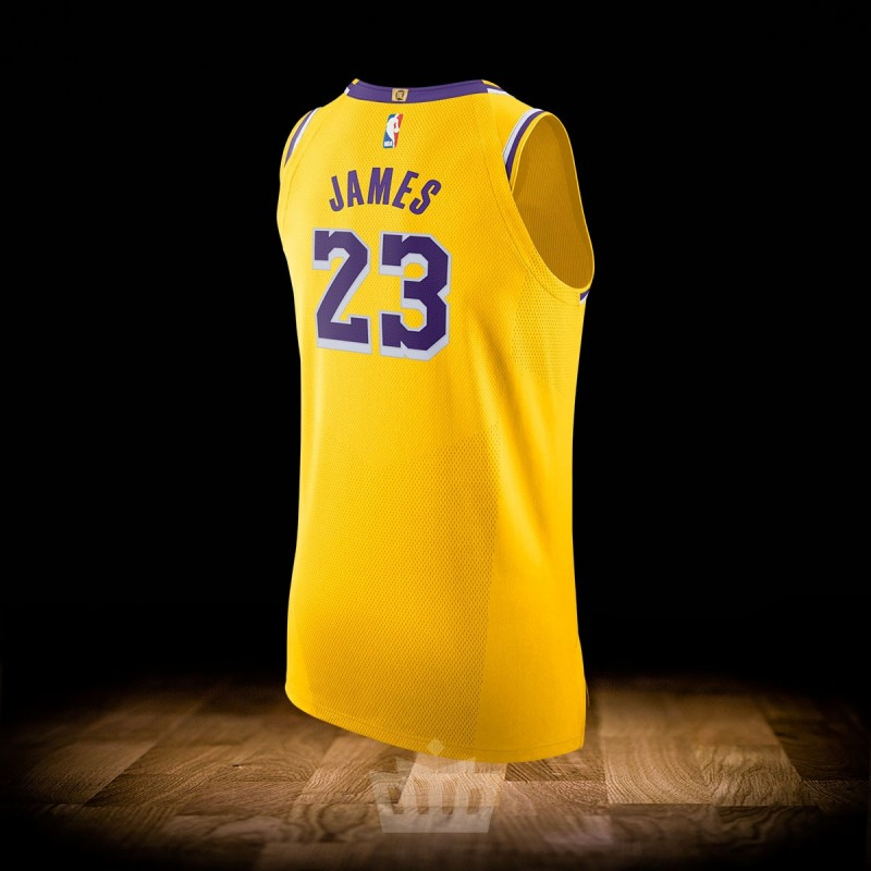 Nike Air Jordan All Star 19 Authentic Jersey Black Los Angeles Lakers Lebron James
