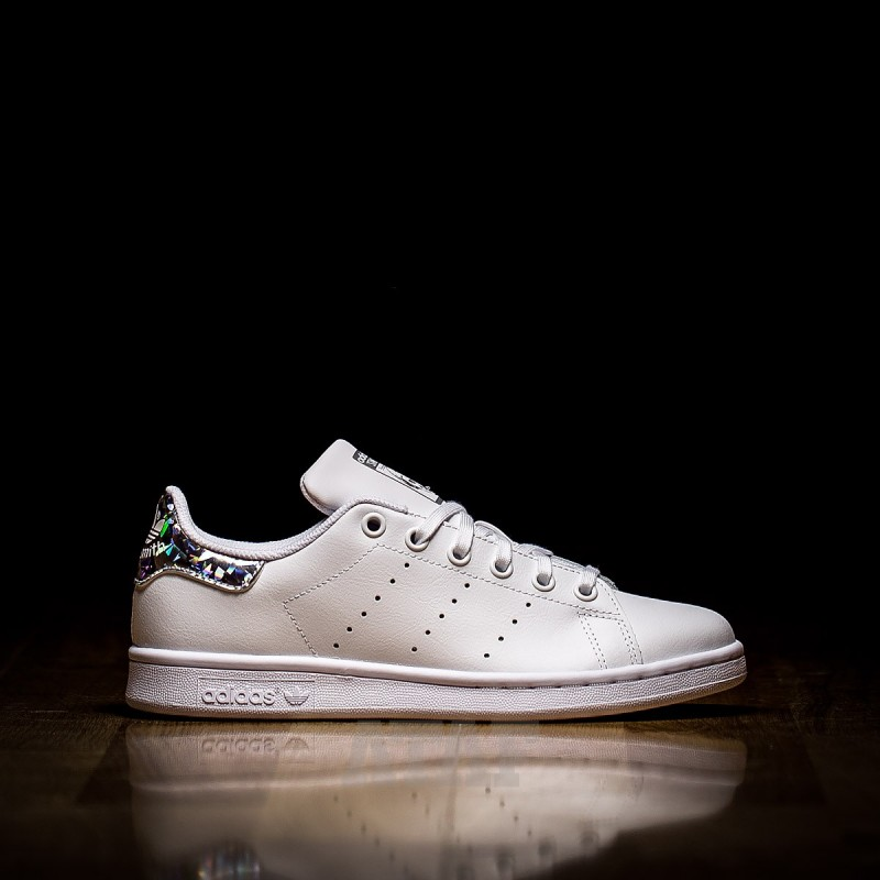 super popular 61a49 12da1 adidas Stan Smith J Cloud White Mirror Reflex