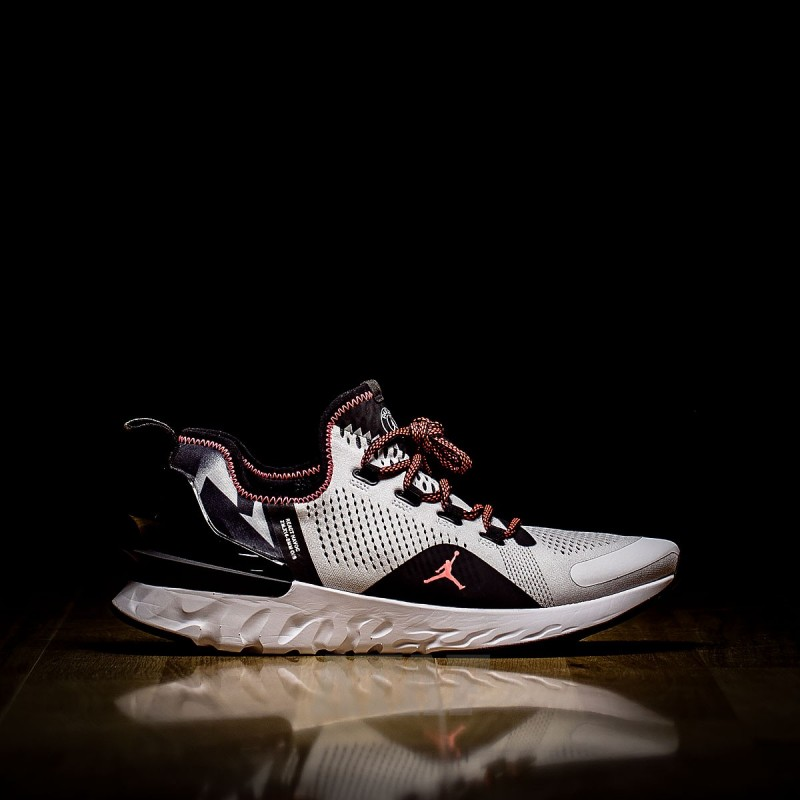 lace up in reasonably priced recognized brands Nike Air Jordan React Havoc PSG Black and White