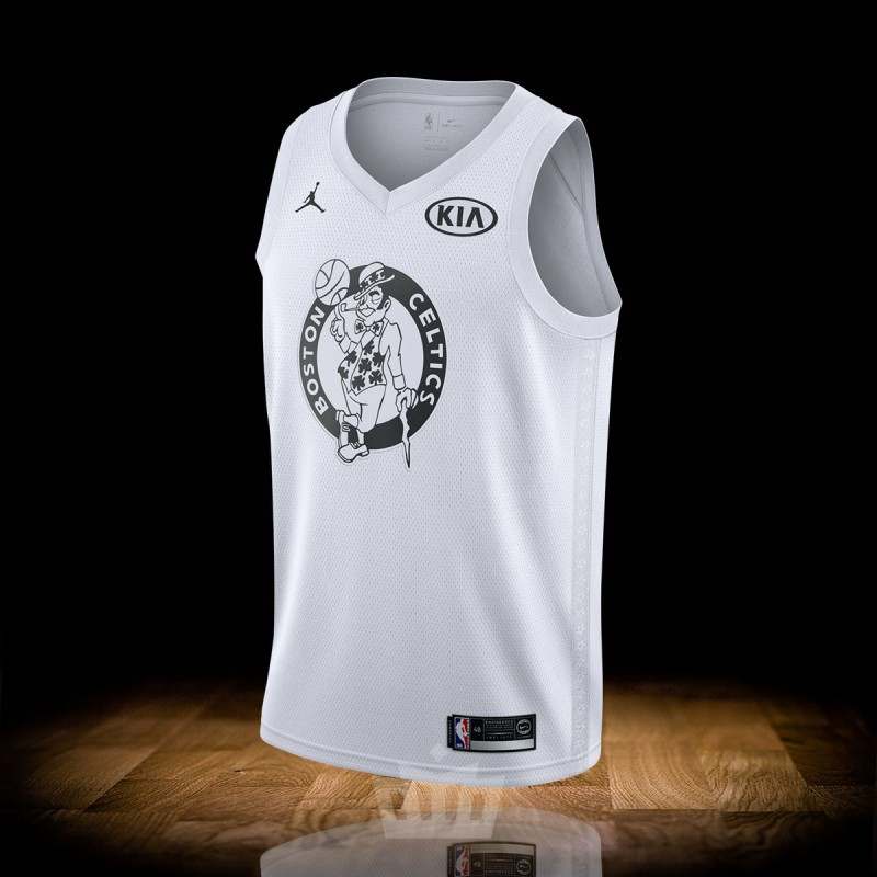 best website 01fb0 87f73 Nike Air Jordan NBA Swingman Jersey All-Star 2018 Kyrie Irving White