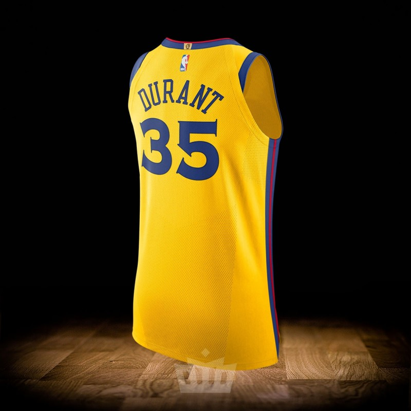 reputable site 25584 6a177 Nike NBA City Edition Golden State Warriors Authentic Jersey Kevin Durant