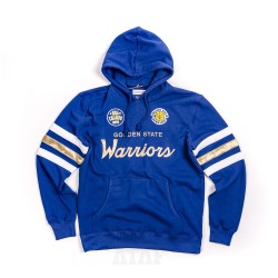 Mitchell & Ness NBA Golden State Warriors Championship Game Pullover Hoody Blue