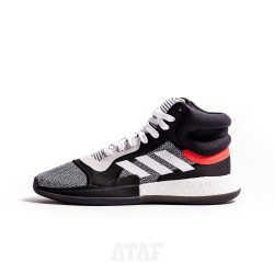 adidas Marquee Boost White Core Black Solar Red