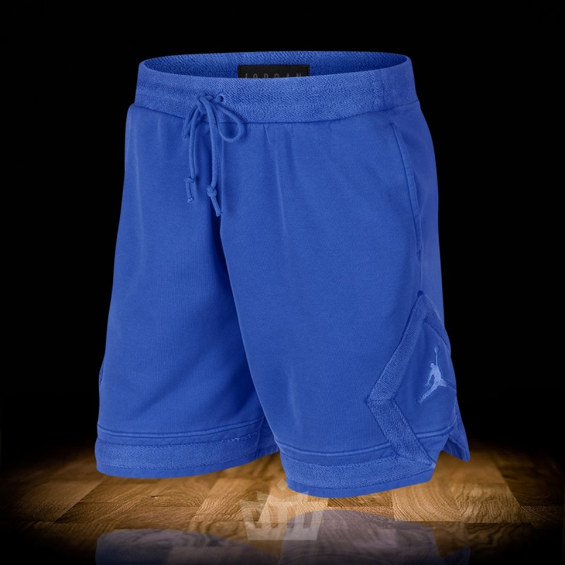 fe594b9d13d Nike Air Jordan Diamond Washed Fleece Shorts Hyper Royal - 939960 ...