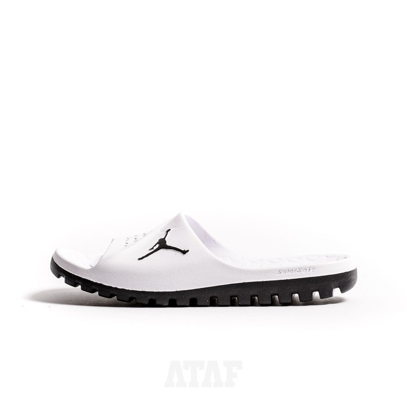 Nike Air Jordan Super.Fly Team Slide 2 White Print
