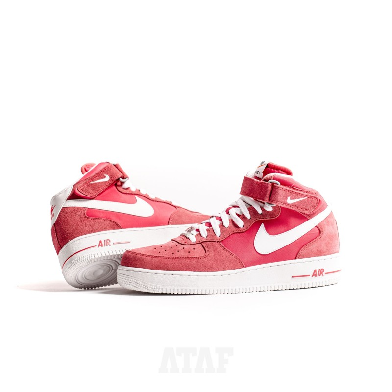 Nike Air Force 1 Mid '07 All Fusion Red