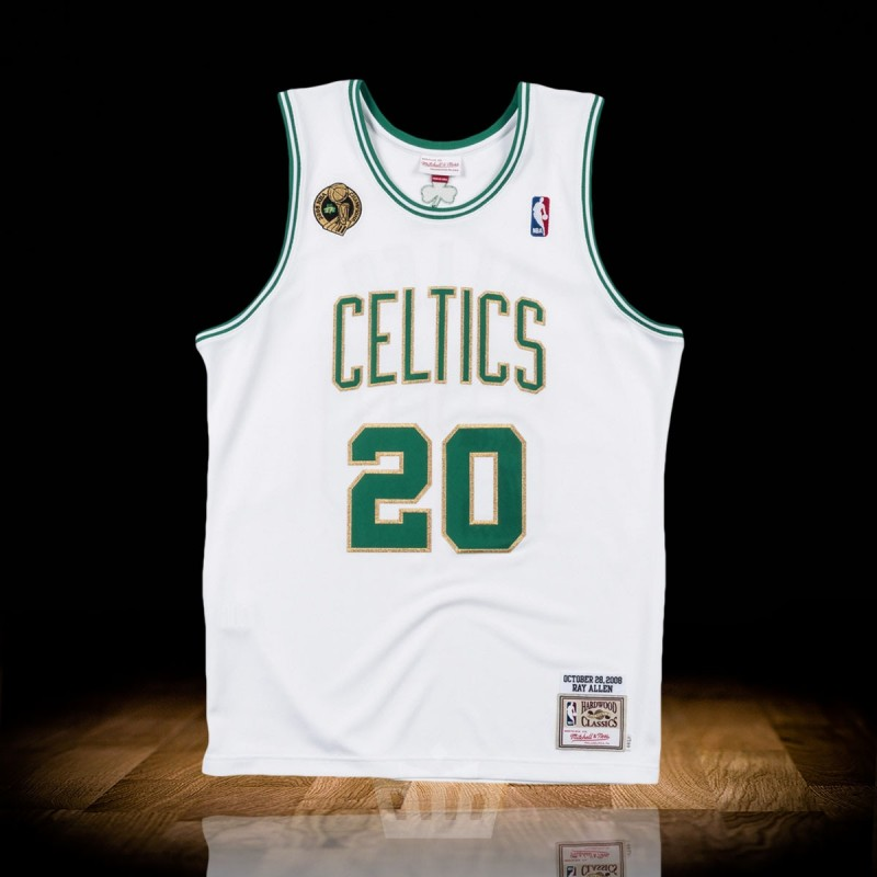 the latest 43d4a 9d3bb Mitchell & Ness NBA Boston Celtics 2008-09 Home Authentic Jersey Ray Allen
