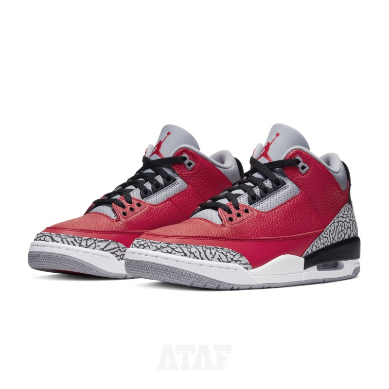Nike Air Jordan 3 Retro Chicago Red Cement