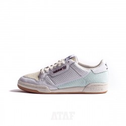 adidas Continental 80 Cloud White Easy Yellow
