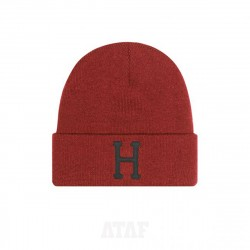 HUF Classic H Beanie Rose Wood Red