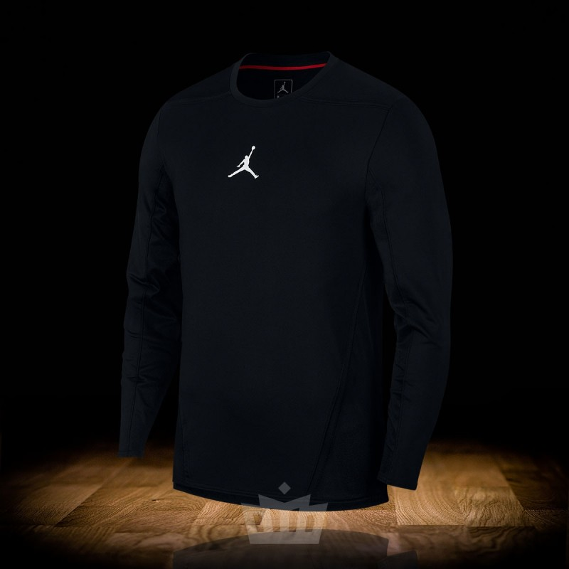 a6e1a6c712a1c1 Nike Air Jordan Ultimate Flight Shooting Shirt black - 924560-010 w ...