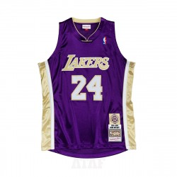 Mitchell & Ness NBA Hall Of Fame Authentic Jersey Los Angeles Lakers 1996-2016 Kobe Bryant Purple