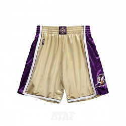 Mitchell & Ness NBA Hall Of Fame Authentic Shorts Los Angeles Lakers 1996-2016 Kobe Bryant Gold