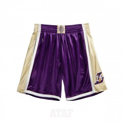 Mitchell & Ness NBA Hall Of Fame Authentic Shorts Los Angeles Lakers 1996-2016 Kobe Bryant Purple