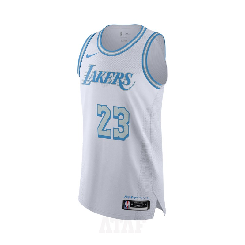 Nike NBA Authentic Jersey Los Angeles Lakers City Edition LeBron ...
