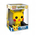 "Funko POP!  Games Pokemon Vinyl Figure Pikachu 10"" Inch 353"