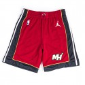 Nike Air Jordan NBA Swingman Statement Short Miami Heat Red