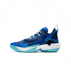 Nike Air Jordan Why Not Zer0.4 Trust and Loyalty Russell Westbrook Blue