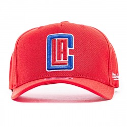 Mitchell & Ness NBA Dropback Solid Redline Snapback Los Angeles Clippers