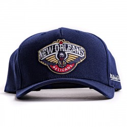 Mitchell & Ness NBA Dropback Solid Redline Snapback New Orleans Pelicans