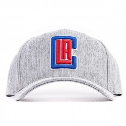 Mitchell & Ness NBA Team Heather Redline Snapback Los Angeles Clippers
