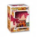 Funko POP!  Animation Dragon Ball S Vinyl Figure SSG Goku 827 Summer 2020 Convention Exclusive