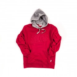 Mitchell & Ness NBA Houston Rockets Pullover Hoodie Red