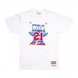 Mitchell & Ness NBA All Star West Name&Number Dominique Wilkins Tee White