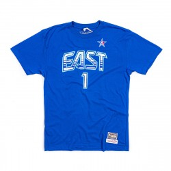 Mitchell & Ness NBA All Star East Name&Number Allen Iverson Tee Navy