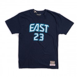 Mitchell & Ness NBA All Star East Name&Number LeBron James Tee Navy