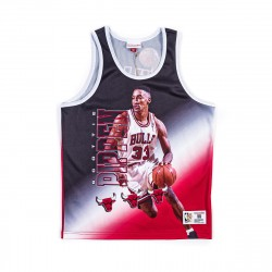 Mitchell & Ness NBA Chicago Bulls Behind The Back Tank Top Scottie Pippen