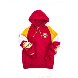 Mitchell & Ness NBA Houston Rockets Instant Replay Pullover Hoodie Scarlet