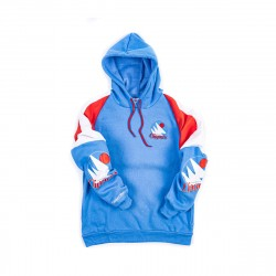 Mitchell & Ness NBA Los Angeles Clippers Instant Replay Pullover Hoodie Light Blue