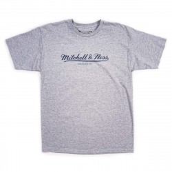 Mitchell & Ness Front Classic Logo Tee Grey