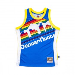 Mitchell & Ness NBA Blown Out Fashion Jersey Denver Nuggets Royal