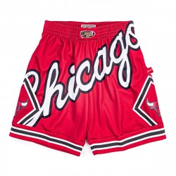 Mitchell & Ness NBA Blown Out Fasion Short Chicago Bulls Red