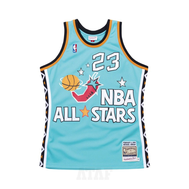 adidas yung 96 NBA All-Star Game 1996 Authentic Jersey Michael ...