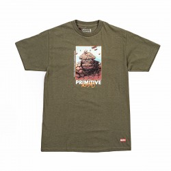 Primitive X Marvel Thing Tee Military Green