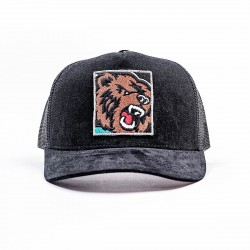 Mitchell & Ness NBA Icon Pinch Panel Trucker Snapback Vancouver Grizzlies
