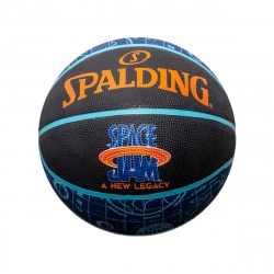 Spalding Space Jam 2 Tune Squad Roster Ball Outdoor Black Blue