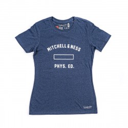 Mitchell & Ness Branded WMNS Tee Navy