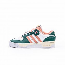 adidas Rivalry Low  Green Pink