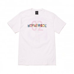 HUF Confusion Tee White