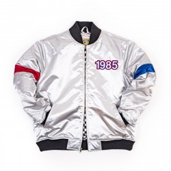 Mitchell & Ness NBA Hardwood Classics 1985 All-Star Game Quilted Satin Full Zip Jacket