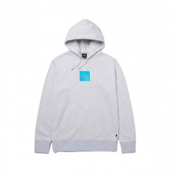HUF Domestic Box Emb Pullover Hoodie Athletic Heather